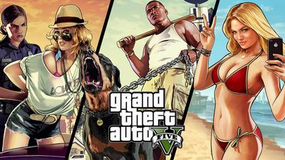 Прохождение Grand Theft Auto V (GTA 5)